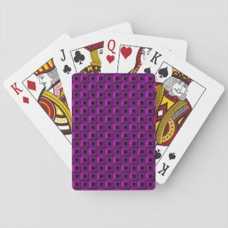 Jeu De Cartes Bernaches dans les cartes de jeu pourpres