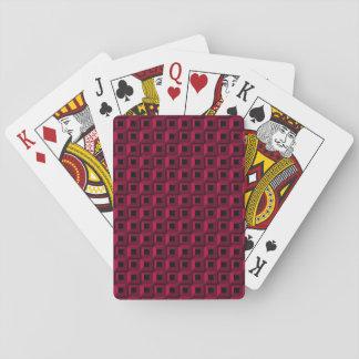 Jeu De Cartes Bernaches dans les cartes de jeu roses