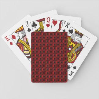 Jeu De Cartes Bernaches dans les cartes de jeu rouges