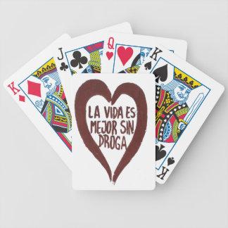 Jeu De Cartes Bicycle® Poker Cards Amour#1