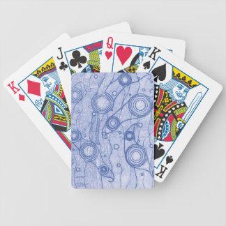 Jeu De Cartes Bleu et blanc
