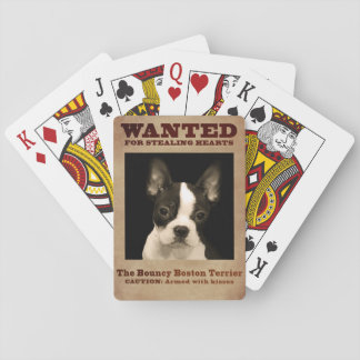 Jeu De Cartes Boston plein d'entrain Terrier