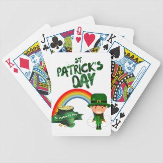 Jeu De Cartes Cadeaux du jour de St Patrick