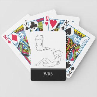 JEU DE CARTES CARDS_#6 CHIFFRE DE JEU CHIC DRAWING/INITIALS