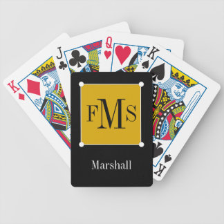 JEU DE CARTES CARDS_BLACK/WHITE/GOLD DE JEU CHIC