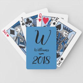 JEU DE CARTES CARDS_MONOGRAM DE JEU CHIC /2018 DO-IT-YOURSELF