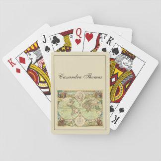 Jeu De Cartes Carte antique #4 du monde