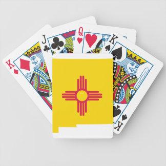 Jeu De Cartes Carte de drapeau du Nouveau Mexique