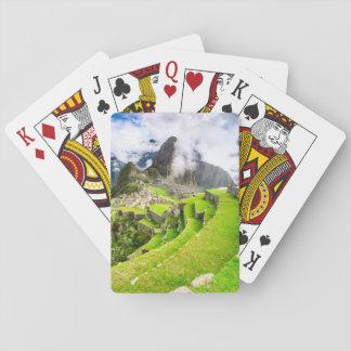 Jeu De Cartes Carte de jeu Machu Picchu, Cusco, Pérou