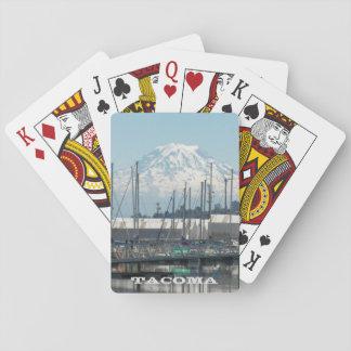 Jeu De Cartes Carte postale de photo de voyage de Tacoma,