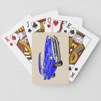 Jeu De Cartes Cartes 1957 de jeu de Shoebox dans le bleu