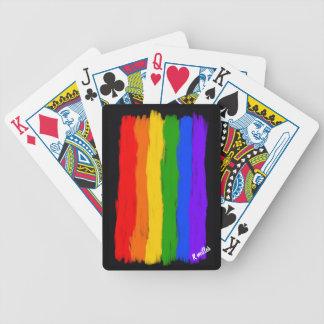 Jeu De Cartes cartes de camping de fierté