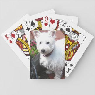 Jeu De Cartes Cartes de jeu adorables de Westie