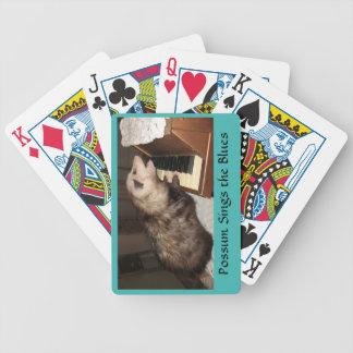 Jeu De Cartes Cartes de jeu appropriées d'opossum