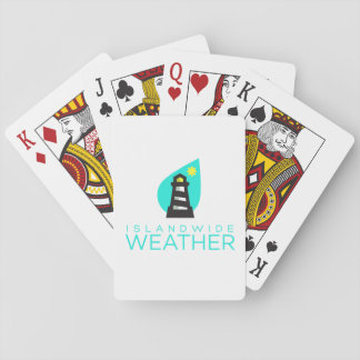 Jeu De Cartes Cartes de jeu au niveau insulaire de temps