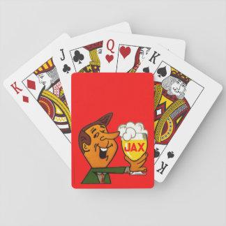 Jeu De Cartes Cartes de jeu classiques de bière de Jax