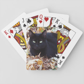 Jeu De Cartes Cartes de jeu classiques de photo d'automne de