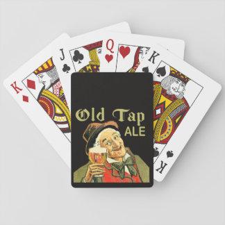 Jeu De Cartes Cartes de jeu classiques de vieille bière anglaise