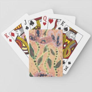 Jeu De Cartes Cartes de jeu, conception de terre cuite