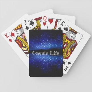 Jeu De Cartes Cartes de jeu cosmiques de la vie