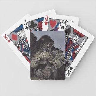 Jeu De Cartes Cartes de jeu d'aquarelle d'équipe de choc