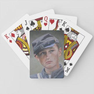Jeu De Cartes Cartes de jeu d'art de portrait de soldat de