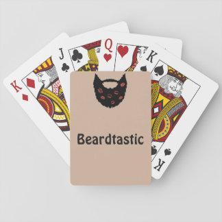 Jeu De Cartes Cartes de jeu de Beardtastic