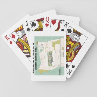 Jeu De Cartes Cartes de jeu de bibliothèque de pinte Roberts