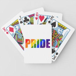 Jeu De Cartes cartes de jeu de bicyclette de fierté