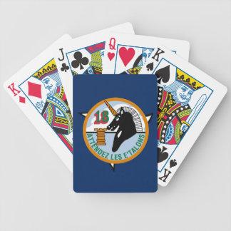 Jeu De Cartes Cartes de jeu de bicyclette de l'escadron 18 de