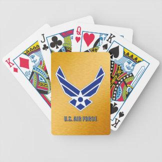 Jeu De Cartes Cartes de jeu de bicyclette de l'U.S. Air Force