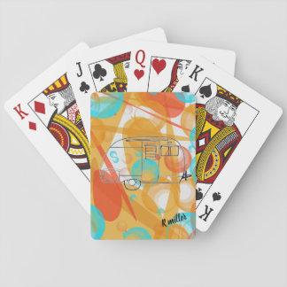 Jeu De Cartes Cartes de jeu de campeur