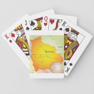 Jeu De Cartes Cartes de jeu de carte de la Bolivie
