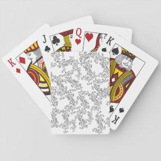 Jeu De Cartes Cartes de jeu de conception de Twirly