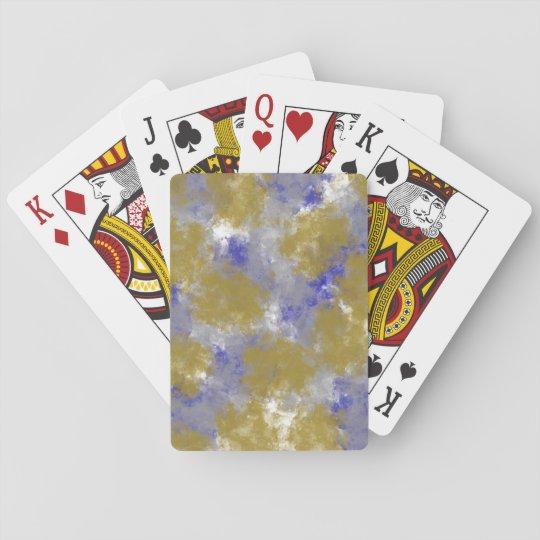 Jeu De Cartes Cartes de jeu de conception d'impression d'éponge