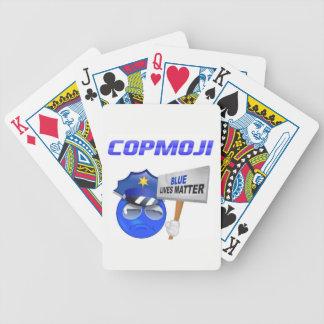 Jeu De Cartes Cartes de jeu de CopMoji