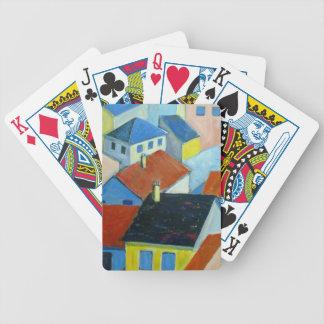 Jeu De Cartes Cartes de jeu de dessus de toit