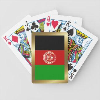 Jeu De Cartes Cartes de jeu de drapeau de l'Afghanistan