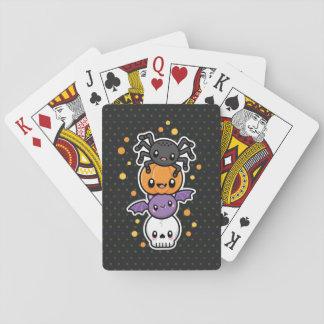 Jeu De Cartes Cartes de jeu de festins de Halloween
