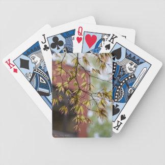 Jeu De Cartes Cartes de jeu de feuille de chute