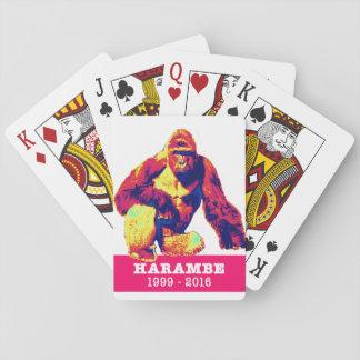 Jeu De Cartes Cartes de jeu de Harambe