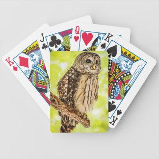 Jeu De Cartes Cartes de jeu de hibou