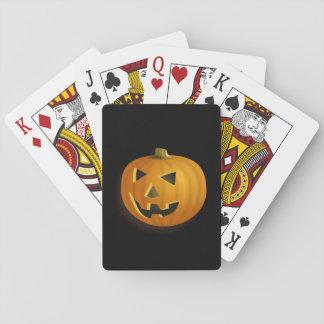 Jeu De Cartes Cartes de jeu de Jack-o'-lantern