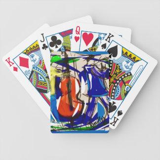 Jeu De Cartes Cartes de jeu de jazz d'amusement
