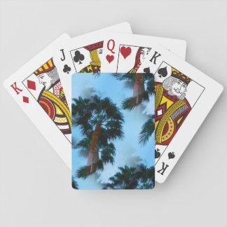 Jeu De Cartes Cartes de jeu de palmiers