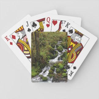 Jeu De Cartes Cartes de jeu de photo de cascade