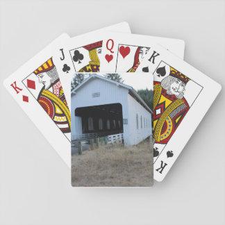 Jeu De Cartes Cartes de jeu de photo de pont couvert