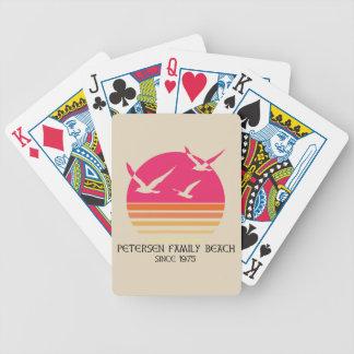 Jeu De Cartes Cartes de jeu de plage de famille de Petersen