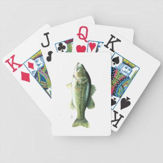 Jeu De Cartes Cartes de jeu de poissons de bicyclette de J