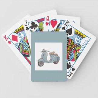 Jeu De Cartes Cartes de jeu de scooter